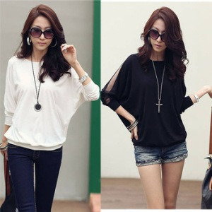 2014-Brand-New-Women-s-Cotton-Loose-T-Shirt-Top-Dolman-Batwing-Lace-Long-Sleeve-Shirt.jpg_350x350