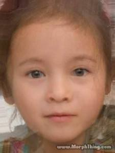 According to morphthing.com this is how our baby would look like